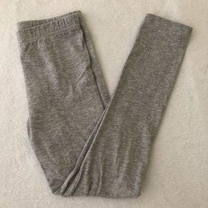 Carters gray leggings size 7 girls